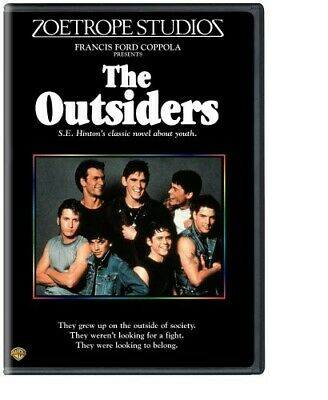 The Outsiders (1983) [New DVD] Full Frame, Repackaged, Subtitled, Widescreen,