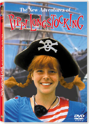 The New Adventures of Pippi Longstocking [New DVD] Subtitled
