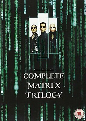 Complete Matrix Trilogy [DVD] [1999] - DVD  20VG The Cheap Fast Free Post