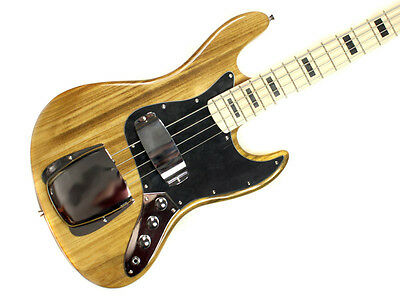 Bass Guitar With Jazz Style Ash Body