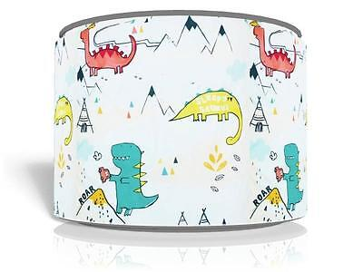 "Dylan The Dinosaur , Dinosaurs Ceiling Light Lamp Shade 11"" D2 Free  P & P"