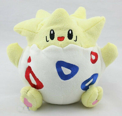 "8"" Nintendo Pokemon Togepi Plush Doll Toy Stuffed Animal Soft Great Kids Gift"