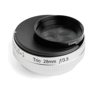 Lensbaby Trio 28 for Sony E - Ultra Compact 28mm F3.5 Lens w/3 Focus Select
