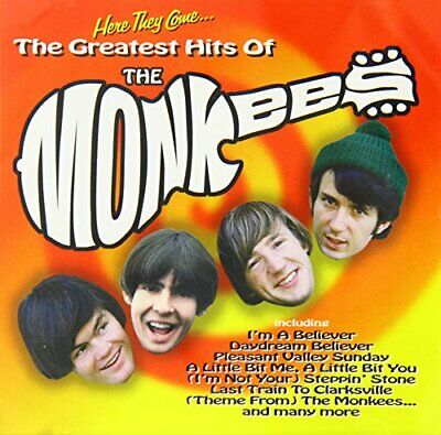 The Monkees - Here They Come... The Greatest Hits Of Th... - The Monkees CD H9VG
