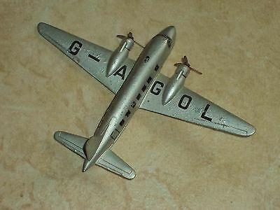 Dinky toys. The Viking airplane made by Meccano.