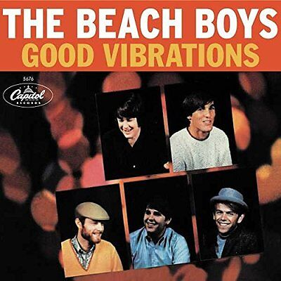 "THE BEACH BOYS GOOD VIBRATIONS Ltd 12"" SUNBURST VINYL LP (50th Anniversary)"