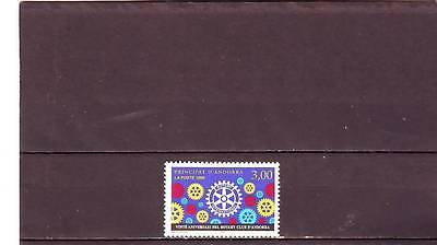 ANDORRA(FRENCH) - SGF539 MNH 1998 20th ANNIV ROTARY INTERNATIONAL IN ANDORRA
