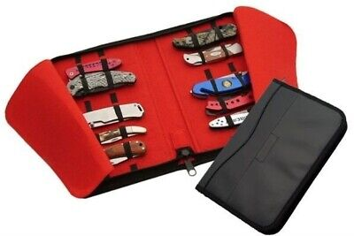 Black Leatherette Knife Case Holds 16 Knives 210781-15