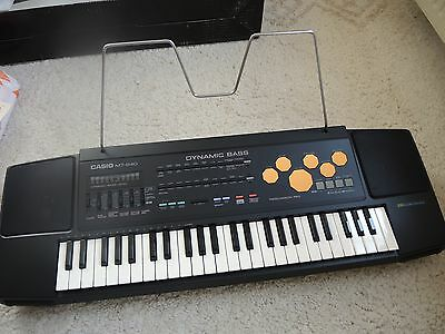 Casio MT-640 -- 210 Sound Tone Bank -- Keyboard / Piano -- Made in Japan