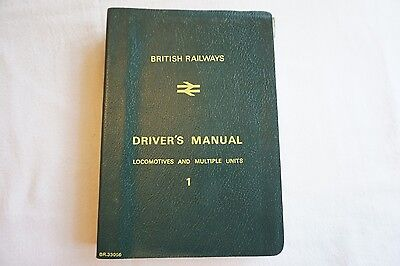 1980s BR Drivers Manual Driving Instructions  Locomotives Loco Rule Book