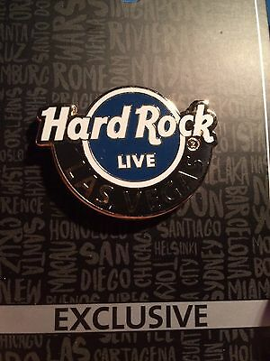 Hard Rock Cafe Las Vegas New Live Logo pin Version #2