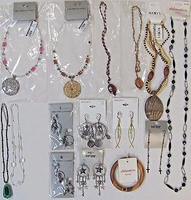 Wholesale Jewelry Lot Necklaces Earrings Bracelet New York & Company Xhilaration