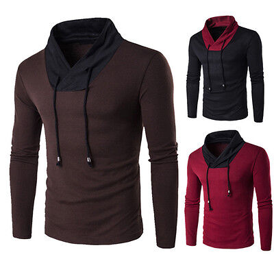 Stylish Mens Casual Slim Fit Knit Cardigan Pullover Jumper Sweater Tops Knitwear