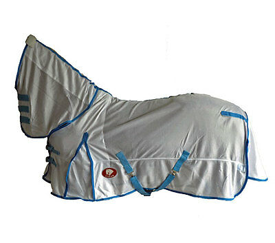 "Yimar 6'3"" Soft Mesh Fly Sheet Horse Rug Combo FT63"
