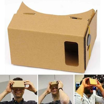 Google Cardboard 3D VR DIY Virtual Reality Viewing Glasses for Smartphone iPhone