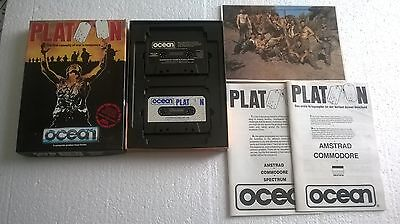 Commodore 64 Platoon The Computer Game C64