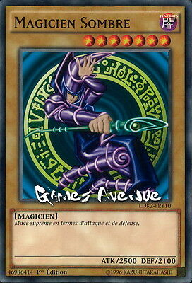 Yu-Gi-Oh ! Magicien Sombre LDK2-FRY10 (LDK2-ENY10) VF/COMMUNE