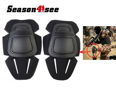 EMERSON G3 Tactical Combat Protective Knee Pads Gear Set Outdoor Paintball Black