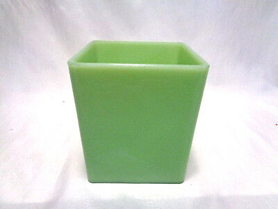 Vintage  Jadeite  Glass Canister  Container- Fire-King  -No Lid