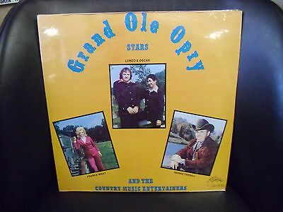 Grand Ole Opry Stars Old Fashioned Fun Fair Sealed LP World International 1977