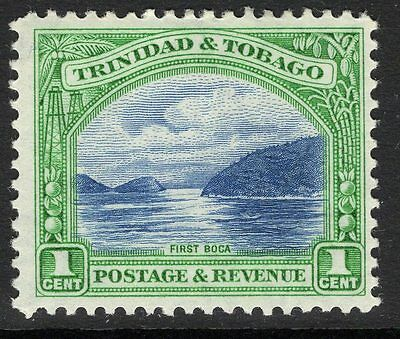 TRINIDAD & TOBAGO SG230 1935 1c BLUE & GREEN MTD MINT