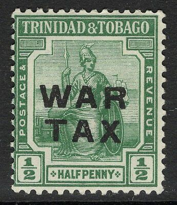 TRINIDAD & TOBAGO SG183 1917 ½d DEEP GREEN MTD MINT
