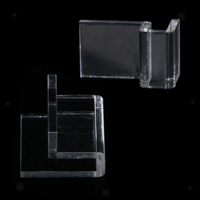 Aquarium Tank Glass Cover Acrylic Clamp Clip Support Holder 6mm Thick Glass