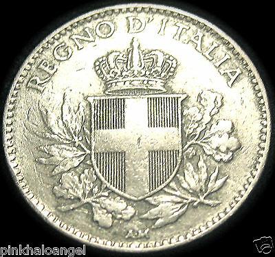 Kingdom of Italy - Italian 1918R 20 Centesimi Coin - World War I Coin