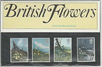 GB 1979 Spring Wild Flowers SG 1079-1082  Presentation Pack