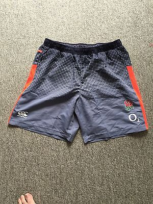 England Rugby Player Issue, Training Shorts, XXL, New Range! Rare.