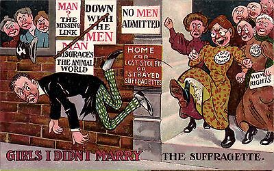 Suffragette Comic. Girls I Didn't Marry. The Suffragette.
