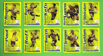 #d138. Sanitarium Weetbix Rugby Union Set Of 10  Cards