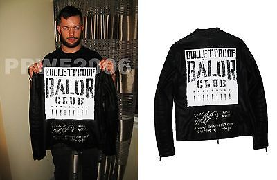 Wwe Nxt Finn Balor Hand Signed Ring Worn Jacket With Inscription & Exact Proof 1