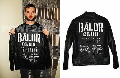 Wwe Nxt Finn Balor Hand Signed Ring Worn Jacket With Inscription & Exact Proof 2