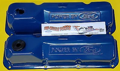 Ford Falcon Xw Xy Xa Gt Gs Power By Ford Rocker Valve Covers Pair Cleveland 351