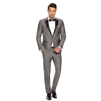 Custom Made Men Wedding Suits Slim Fit Formal Business Party Men Suits Tuxedos