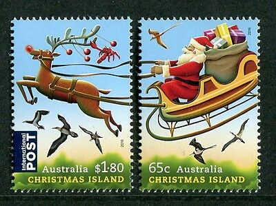 Christmas 2016 - Mnh Set Of Two (Go202)