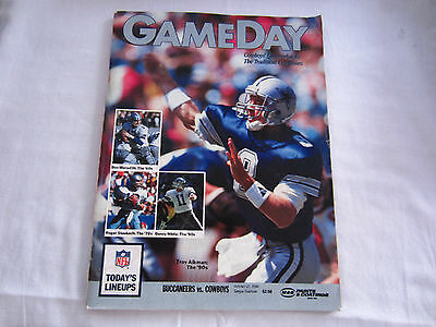 1990 GAMEDAY MATCH PROGRAMME BUCCANEERS v COWBOYS