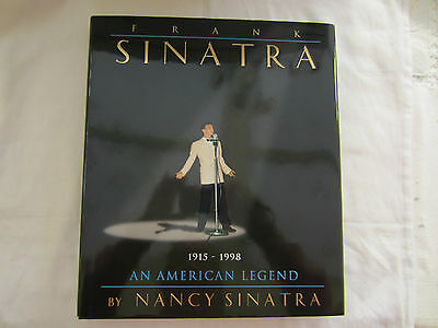 1998 Edition Frank Sinatra Large Hard Back Book By Nancy Sinatra