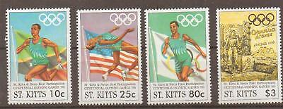 St.kitts Sg459/62 1996 Olympic Games Mnh