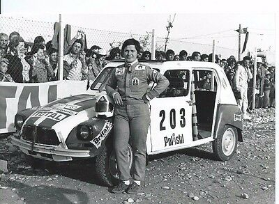 Citroen Dyane Lella Lombardi Rallycross Race Italian Press Photograph