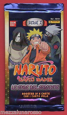 NARUTO CARD GAME serie 2 Le spire del serpente - booster pack