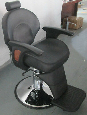 New HEAVY DUTY BLACK BARBER CHAIR BX-2696,CASH ON COLLECTION ONLY