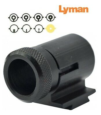 "Lyman * 17AHB Front Sight .404"" High * INCLUDES 8 Inserts * 3171076 New!"