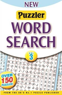 Puzzler Wordsearch Vol. 3, 9781905346578