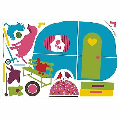 RoomMates W21310 Caravan Peel and Stick Giant Wall Decals