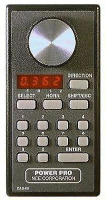 NCE Cab06R DCC Wireless Handheld Engineer Cab Throttle 524-040