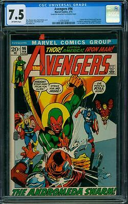 Avengers 96 CGC 7.5 - OW Pages