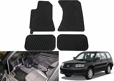 OEM J501SSA110 All Weather Floor Mat For 2003-2008 Subaru Forester New Free Ship