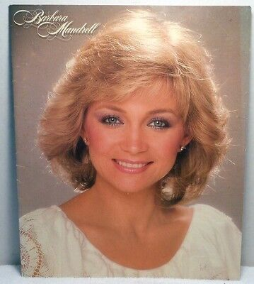 1982 BARBARA MANDRELL TOUR PHOTO BOOK Country Music History Singer Performer